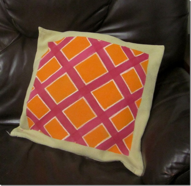 Painted Pillow2