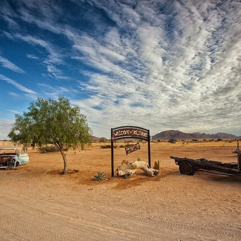 The Solitary Town of Solitaire, in Namibia