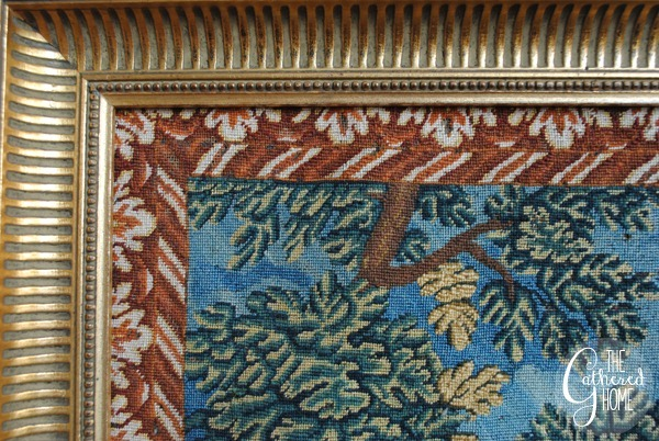 woman at the well vintage needlepoint tapestry 5