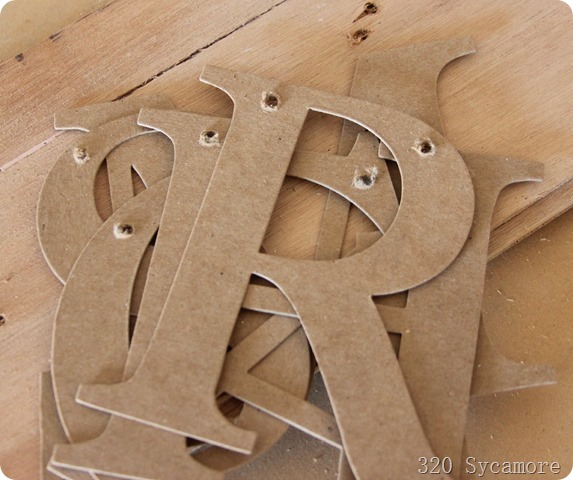 holes in chipboard