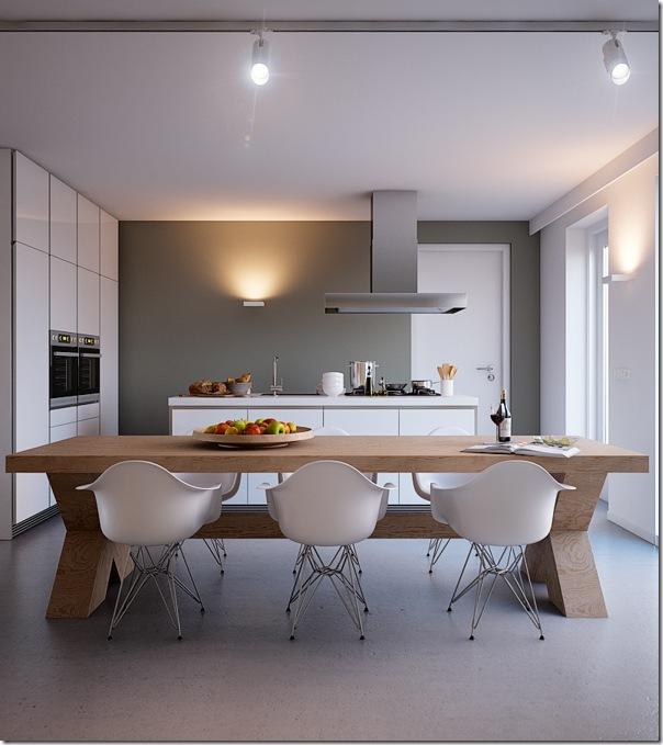 Luminosit con i colori della terra case e interni for Case bianche moderne