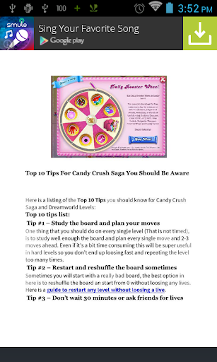 Guide 2015 - Candy Crush Saga