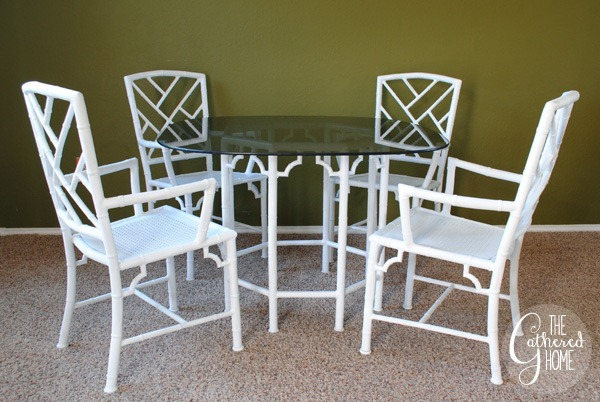 chinese chippendale metal chairs