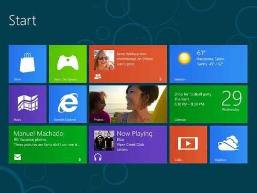 Windows 8 octubre