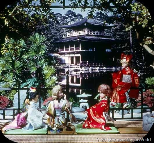 View-Master Barbies Around the World Trip (B500), Scene 15