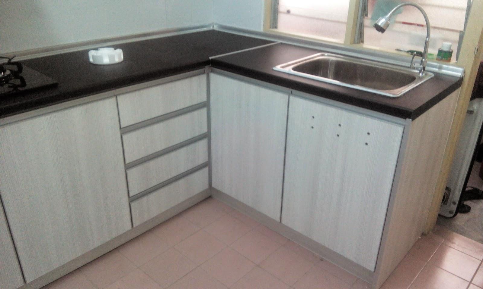 Cantikkan Kabinet Dapur Umah En Azam Ni Kemas Dn Bersih