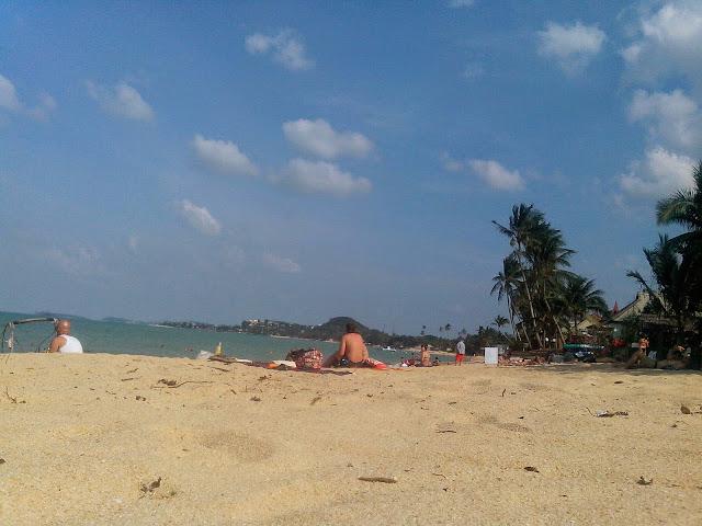 Пляж после нового года
