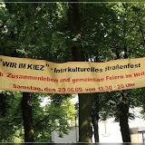 Interkulturelles Straßenfest - Wir im Kiez