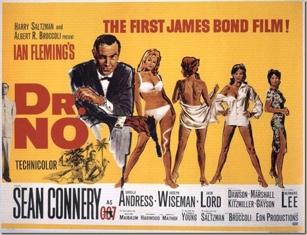 Affiche cinéma de James Bond (1)