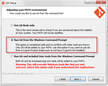 A Test Developer's blog: How to install GIT in Windows