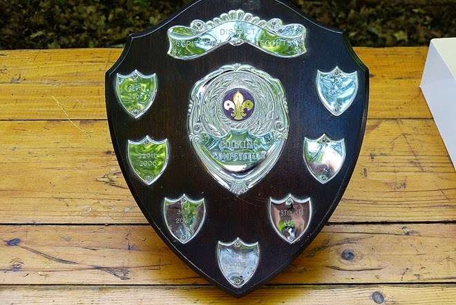 Scouts cooking competition trophy