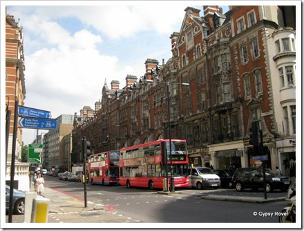 Knightsbridge London.