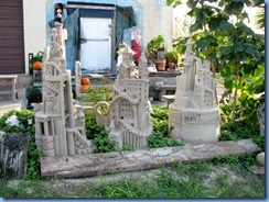 6405 Texas, South Padre Island - 'The Wizard's Roost' sand sculpture on Laguna Blvd