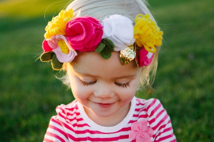 Floral Crown for Toddlers
