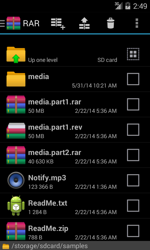 RAR for Android - screenshot