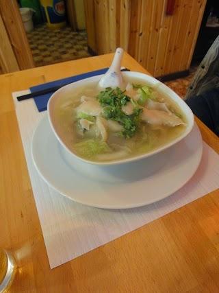 Soupe de nouilles au Restaurant Chez Xu à Lausanne