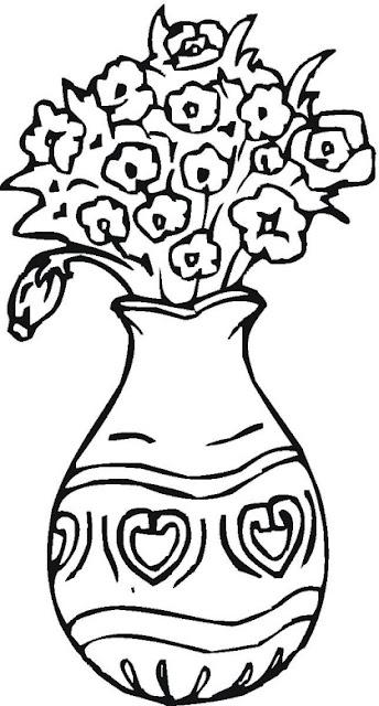 Colorear Dibujos De Floreros
