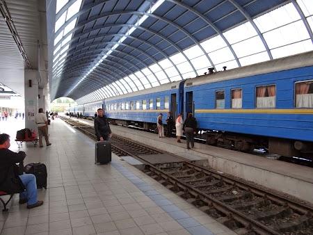 Tren Chisinau - Bucuresti
