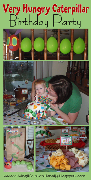 Very Hungry Caterpillar Birthday Party #birthdays