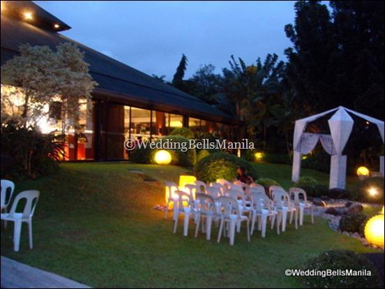 Choosing The Venue Oasis Manila
