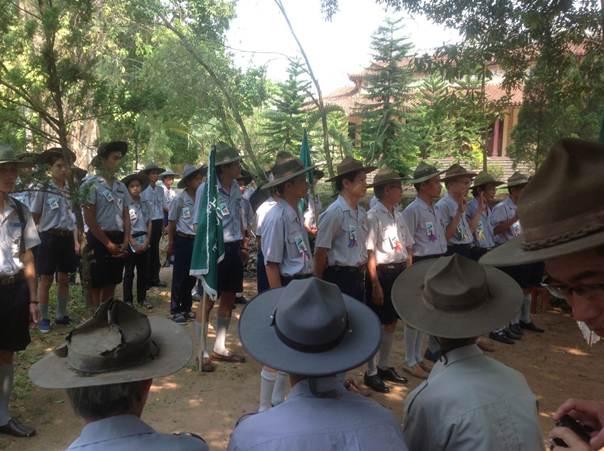 image004 BHD GĐPT Thừa Thiên tổ chức Trại Dũng năm 2013