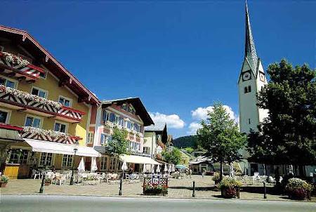 Obiective turistice Austria: Abtenau piata centrala