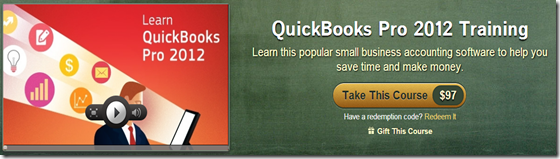 QuickBooks Pro 2012 Training by Simon Sez IT