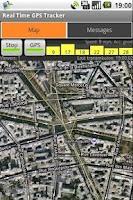 Screenshot of Real-Time GPS Tracker
