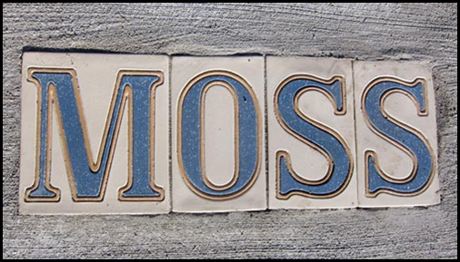 I Am Not Sure Of The Name Booth Or Designer These Letters But You Can Purchase Your Own From New Orleans Tile Company