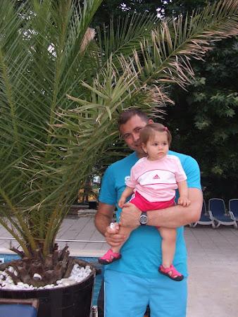 Madalin Mancila cu fiica