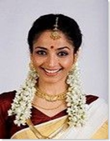 South Indian bride wearing Bindi