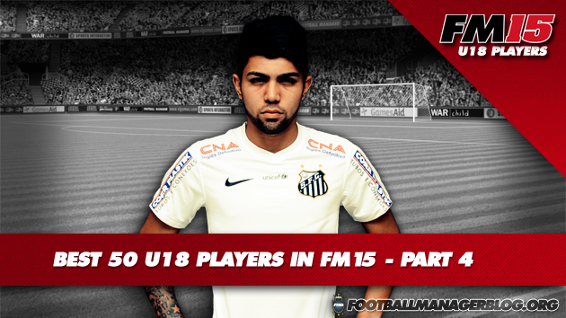Best 50 U18 Players in FM15 - Part 4