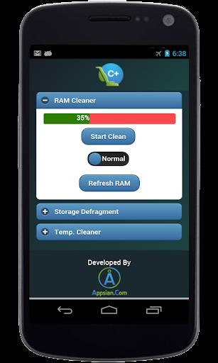 RAM Cleaner App