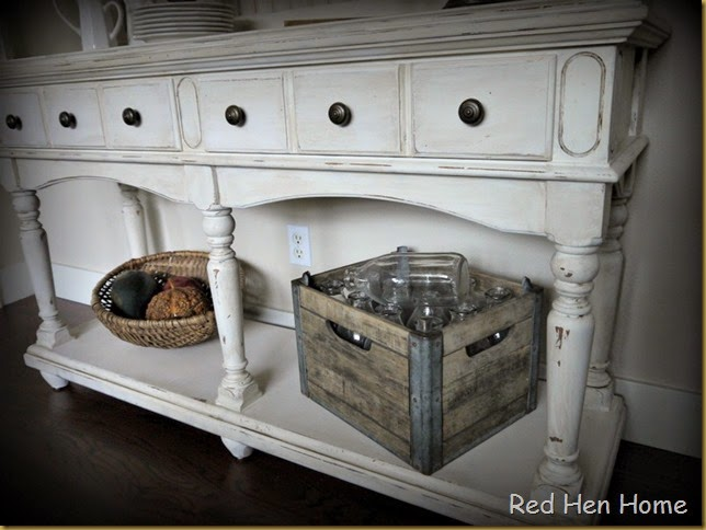 Red Hen Home French Country Hutch 8