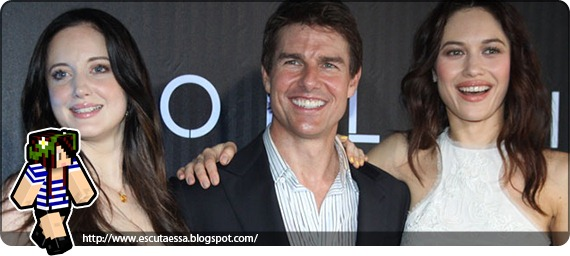 Tom Cruise - Andrea Riseborough e Olga Kurylenko