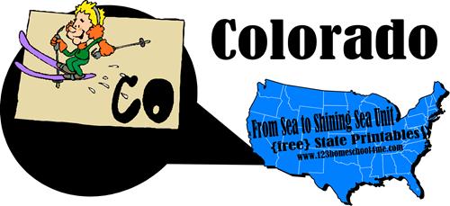 free colorado worksheet
