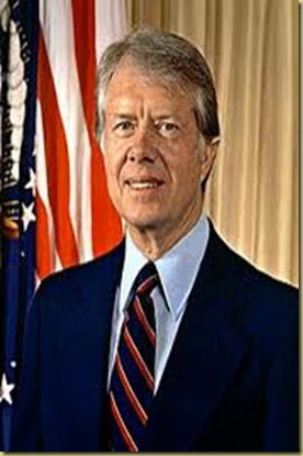 JIMMY CARTER – KB5DQM – EX-PRESIDENTE NORTE-AMERICANO