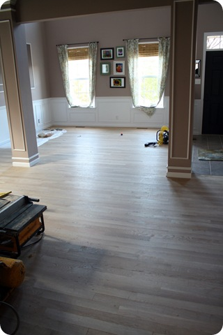 unfinished hardwood floors