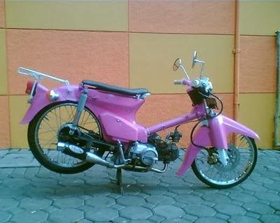 Kumpulan foto modifikasi Honda C70
