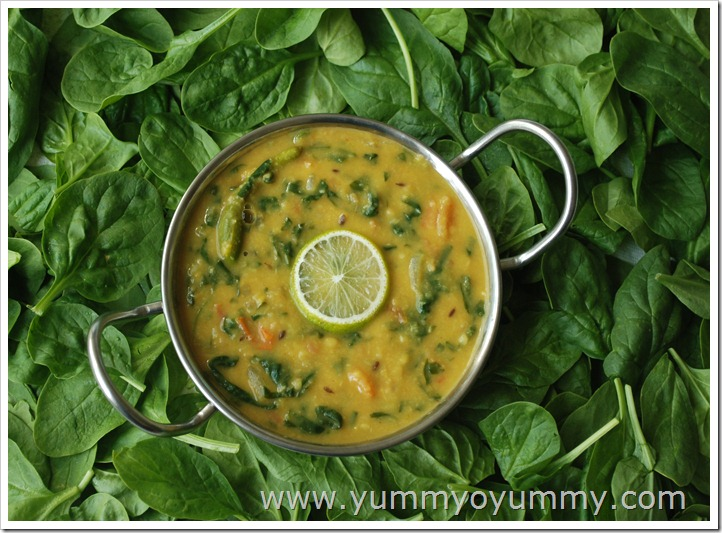 Spinach Dal