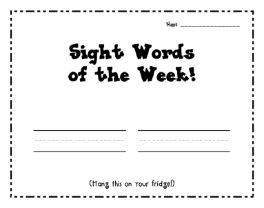 Common Worksheets » Sight Word Can Worksheet - Preschool and ...