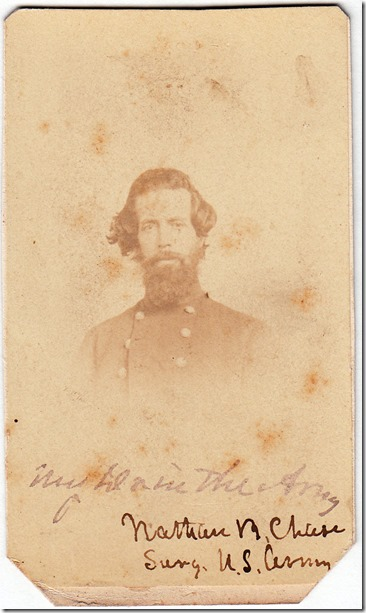 Nathan B. Chase EPC Websters Dr in the Civil War