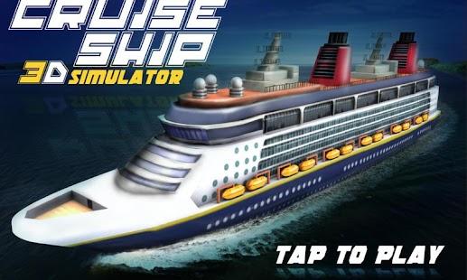 Cruise-Ship-3D-Simulator