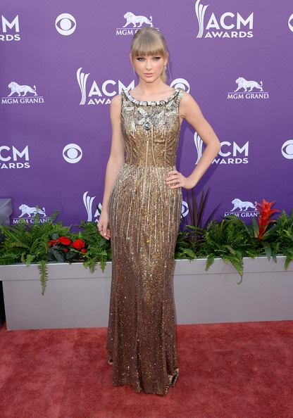 Taylor Swift 48th Annual Academy Country Music Awards Arrivals