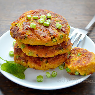 Chickpea And Sweet Potato Patties