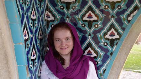 Tinuta turista Iran