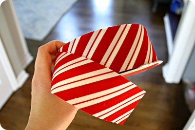 candy cane stripe ribbon