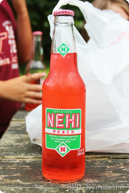 nehi peach soda