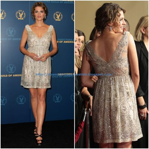 Stana Katic at the 64th Annual Directors Guild Of America Awards