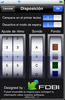 ios iphone ipod metronome metronomo gratuito